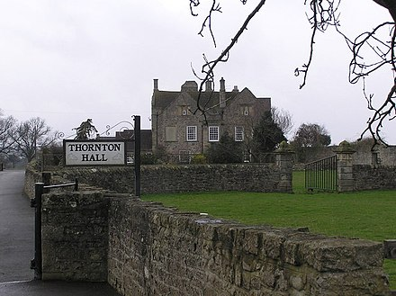 Thornton Hall, photograph by Hugh Mortimer Thornton Hall , Staindrop Road Nr. Darlington - geograph.org.uk - 135306.jpg