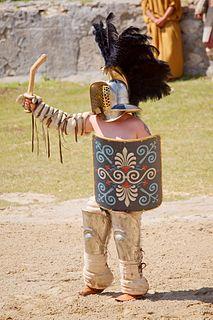 Ludus Dacicus ancient Roman training school for gladiators