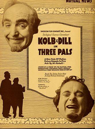 Clarence Kolb - Three Pals (1916)