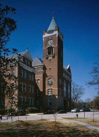 Winthrop University - Tillman Hall, built 1894