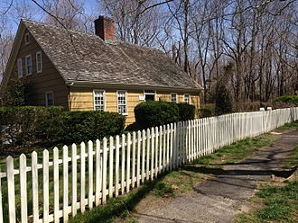 Miller Place, New York - The 1785 Timothy Miller house
