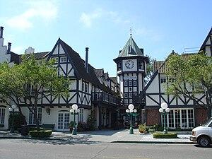 Solvang, California - Tivoli Square, Solvang