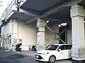 Tokaido Shinkansen railwayside patrol Zennikkei guard room in Shizuoka.jpg