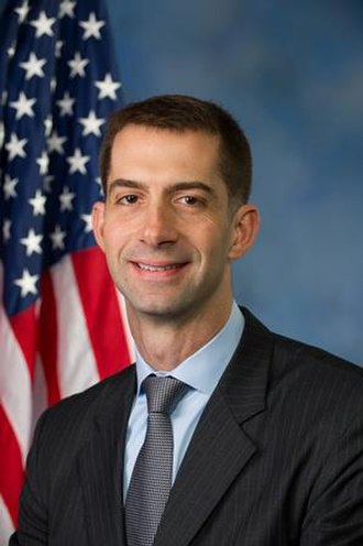 United States Senate election in Arkansas, 2014 - Image: Tom Cotton, Official Portrait, 113th Congress small