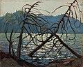 Tom Thomson Canoe Lake Spring 1914.jpg
