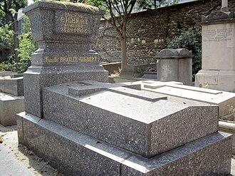 Eugène Gilbert - Tomb of Eugène Gilbert, Paris