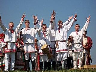 music group from Saransk, Mordovia in Russia. performing traditional songs and music of Erzya, Moksha, Shoksha, and Qaratay ethnics .