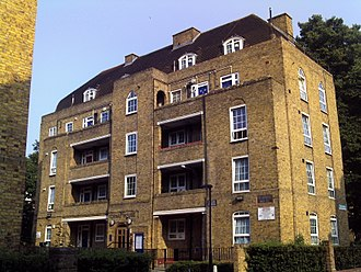 Don Black (lyricist) - Tornay House, Shore Place, London E9, which includes the childhood home of Don Black