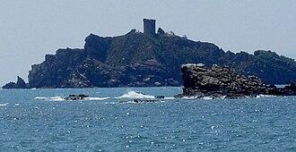 Punta Ala - Image: Torre degli Appiani Isolotto dello Sparviero