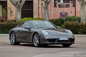 Porsche 911 - Image: Toulousaine de l'automobile 7425 Porsche 911 Carrera (2011)