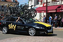 The team support car at the 2012 Tour de France 47acba631