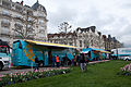 Tour de Romandie 2013 - Stage 5 - Team Astana's buses.jpg