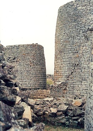 Kingdom of Mutapa - Towers of Great Zimbabwe.