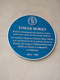 Photo of Tower Works, Thomas Shaw, William Bakewell, Thomas Walter Harding, and 1 other