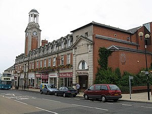 Spennymoor - Image: Town Hall. Spennymoor. geograph.org.uk 502911