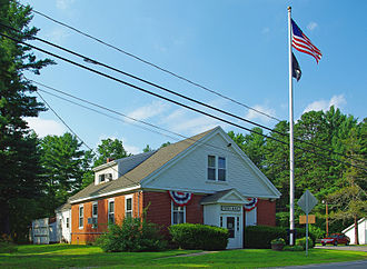 Lee, New Hampshire - Image: Town Hall Lee NH