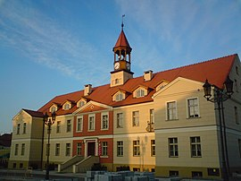 Town hall in Kępno, Poland.jpg