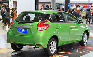 Toyota Yaris - Toyota Yaris L (China)