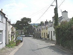 Traditional Cottages near St Elizabeth's Church in the High Street, Glasinfryn - geograph.org.uk - 813320.jpg