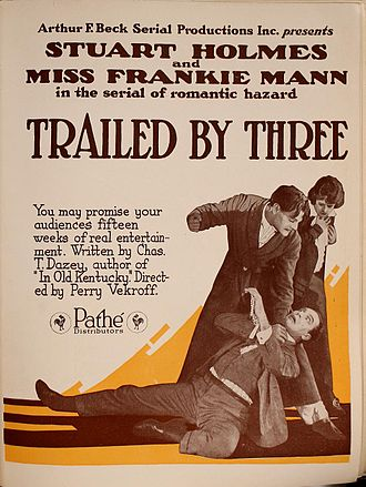 Trailed by Three - Advert for the film