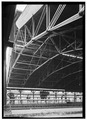 Train shed, detail of trusses - Union Station, 1001 Broadway, Nashville, Davidson County, TN HABS TENN,19-NASH,19-18.tif