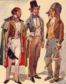 Trajos Masculinos do Início do Século XIX (Roque Gameiro, Quadros da História de Portugal, 1917).png