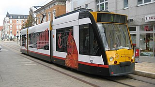 Trams in Nordhausen tram system