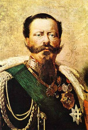 Victor Emmanuel II, the first King of the united Italy Tranquillo Cremona - Vittorio Emanuele II.jpg