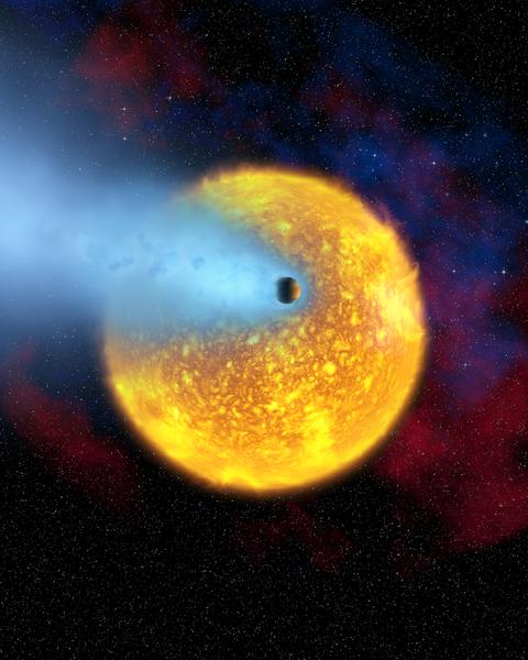 480px-Transiting_planet_HD_209458b - Atmosphere - Khí quyển