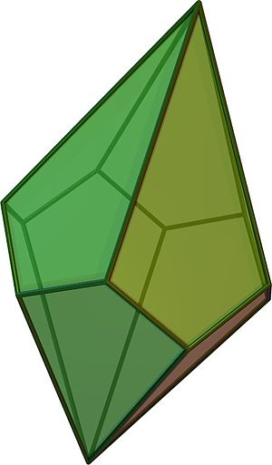 Dihedral symmetry in three dimensions - Image: Trapezohedron 5