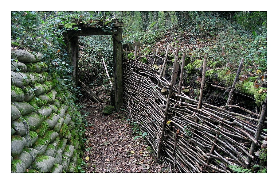Trenches at Vauquois France