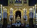 Trieste Tempio serbo-ortodosse della Santissima Trinità e di San Spiridone Innen Iconoastasi 5.jpg