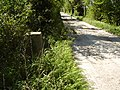 Trig pillar - well hidden at side of farm track - geograph.org.uk - 420002.jpg