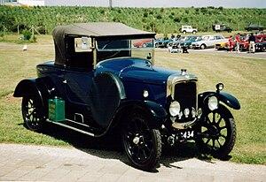 Triumph Motor Company - 1923 Triumph 10/20