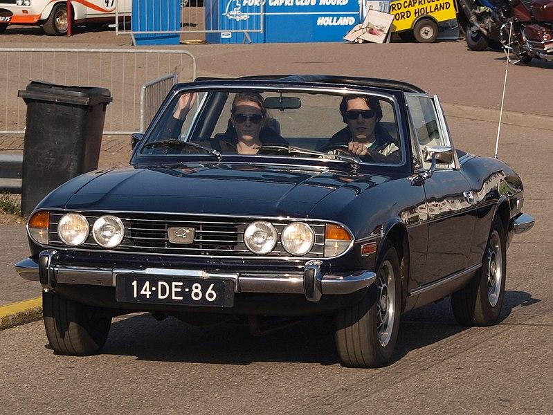 File:Triumph Stag dutch licence registration 14-DE-86 pic1.JPG