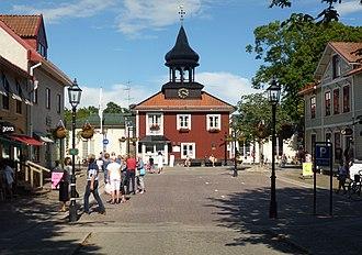 Trosa - Trosa town center in 2012