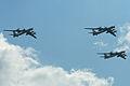 Tu-95 Bear formation - Zhukovsky 2012 (8637917889).jpg