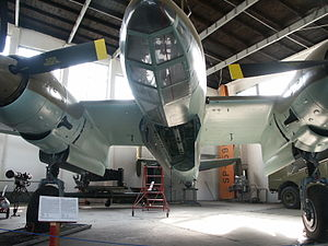 Bomb bay - World War II-era bomber Tupolev Tu-2 with a bomb bay open