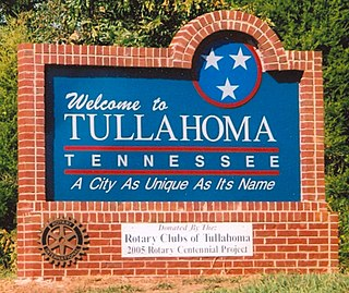 Tullahoma, Tennessee City in Tennessee, United States