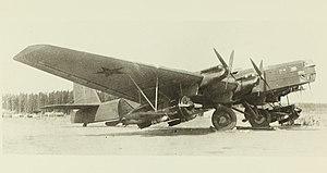 Tupolev TB-3 - TB-3 Zveno