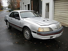 1986 ford thunderbird turbo coupe