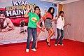 Tusshar Kapoor, Neha Sharma, Sarah Jane Dias, Riteish Deshmukh at 'Kyaa Super Kool Hain Hum' promotions 03.jpg
