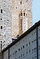 Tychy - Kościół p.w. św. Franciszka - wieżyczka nad chrzcielnicą.jpg