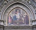 Tympanum central mosaic santa Maria del Fiore Florence.jpg