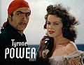 Tyrone Power Maureen O'Hara Black Swan 4.jpg