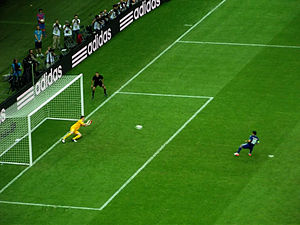 Giorgos Karagounis - Karagounis' penalty at Euro 2012, saved by Polish goalkeeper Przemysław Tytoń