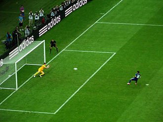 Giorgos Karagounis - Karagounis' penalty at Euro 2012, saved by Polish goalkeeper Przemysław Tytoń