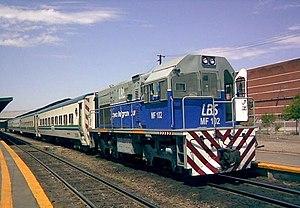 New Zealand DH class locomotive - GE U10B of Ferrocarril Belgrano Sur