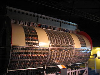 UA1 experiment - The central section of the UA1 experiment on display at the Microcosm museum at CERN