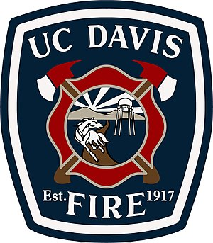 University of California, Davis Fire Department - Image: UCDFD Patch